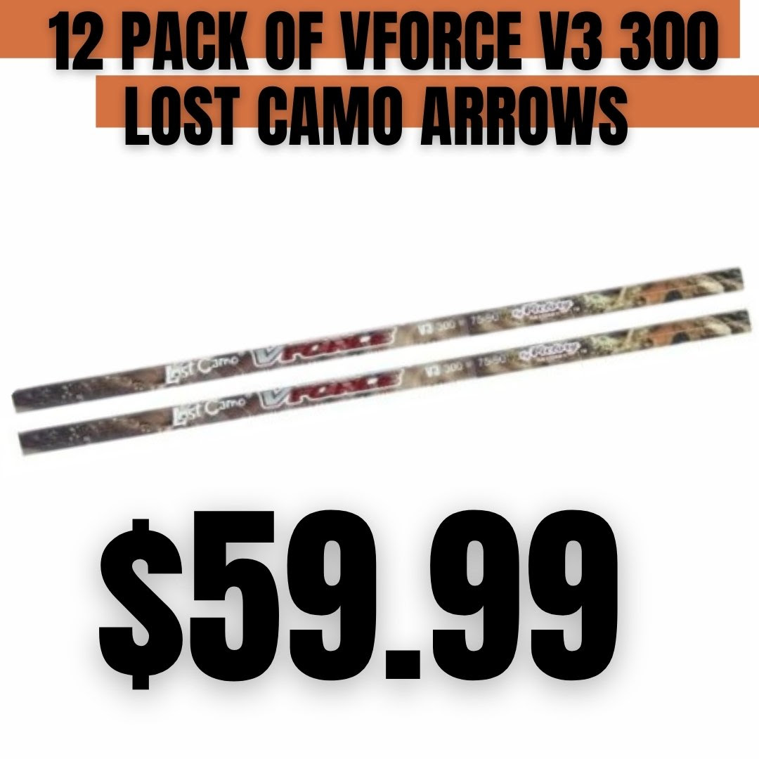Cyber Monday Deals 12 pack of VForce V3 300 Lost Camo