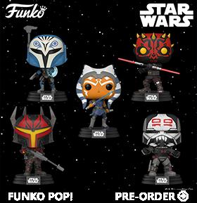 Pop! Star Wars: The Clone Wars