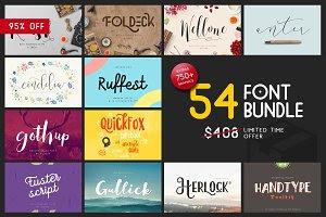 Font & Graphic Bundle - 95% off