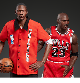 NBA REAL MASTERPIECE MICHAEL JORDAN 1/6 SCALE FIGURE