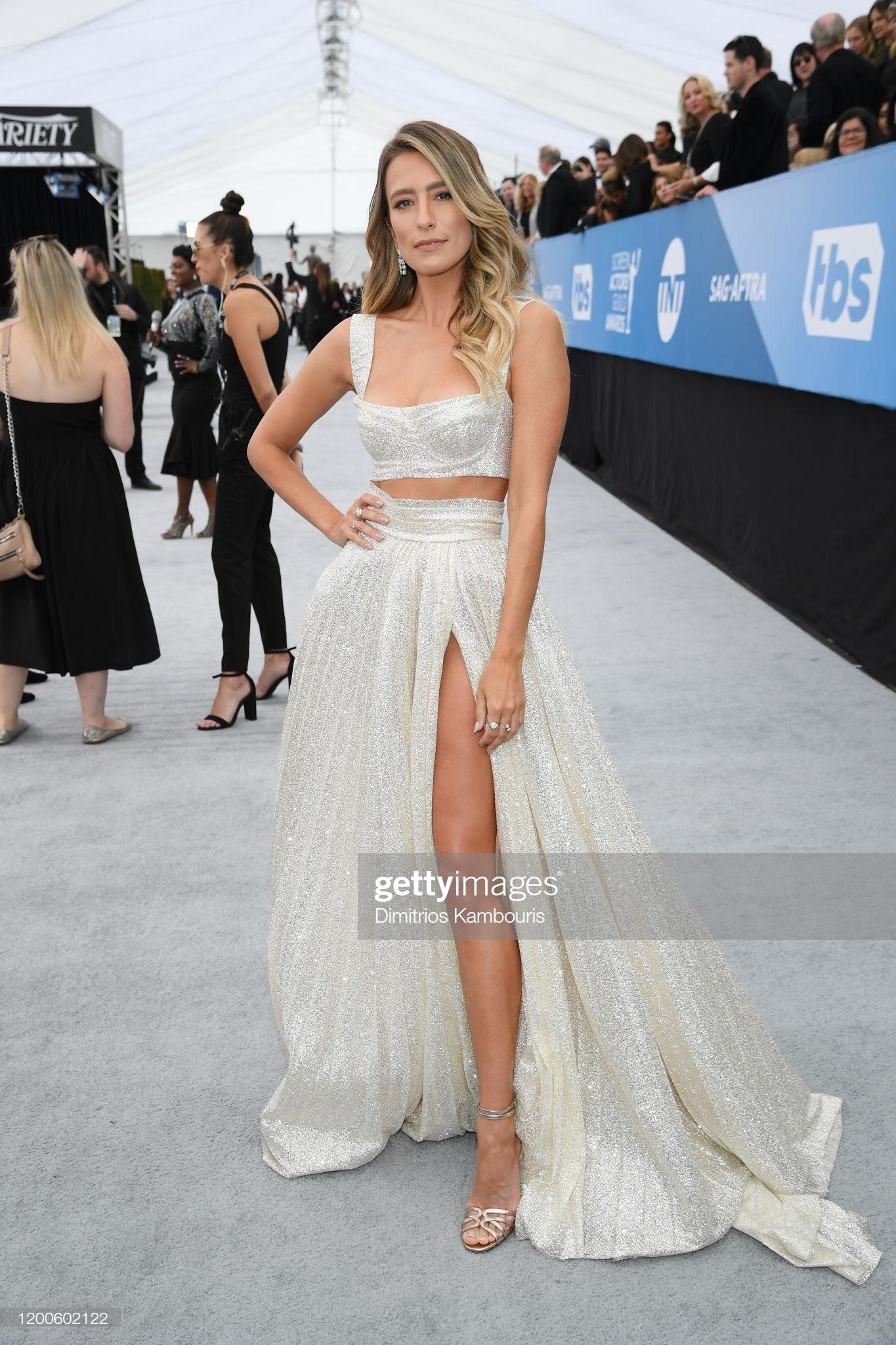 """5be95c6e 258f 4ed2 8368 4827ae2ae532 - Screen Actors Guild Awards"""" 2020: Scarlett Johansson y Leonardo Dicaprio entre las celebrities que lucieron Jimmy Choo"""