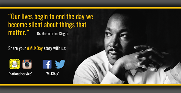 MLK Day 2016 Social Graphic