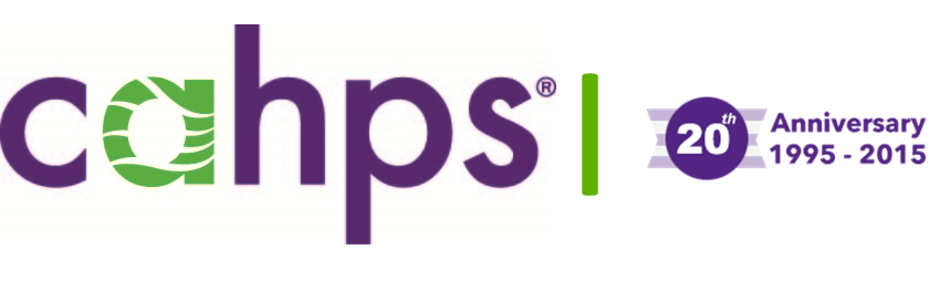 Consumer Assessment of Healthcare Providers and Systems (CAHPS) 20th Anniversary Logo