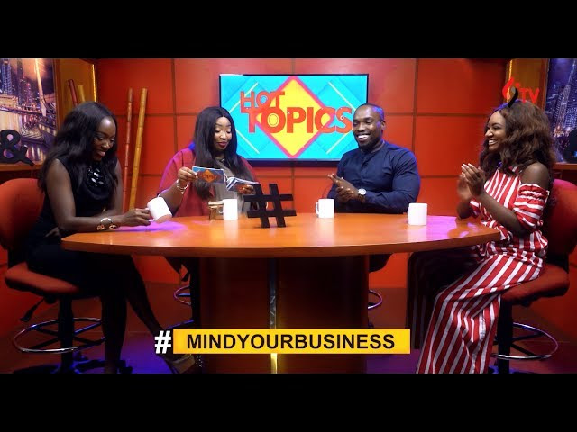 Episode 9 of Hot Topics with Latasha Ngwube