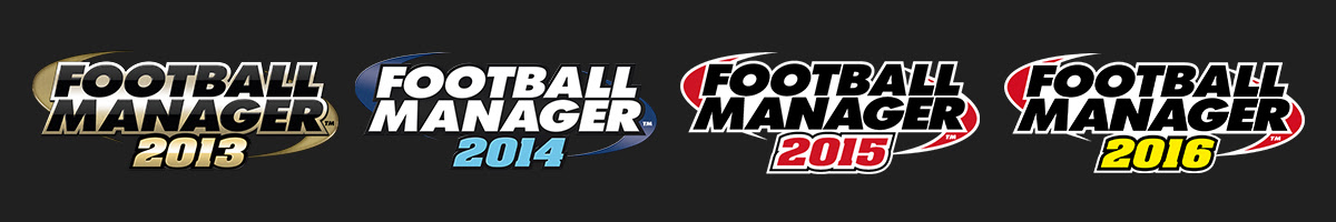 Football Manager 2013, 2014, 2015 and 2016