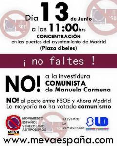 cartel antipodemos