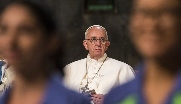Young People's Chorus of New York City Sings for Pope Francis