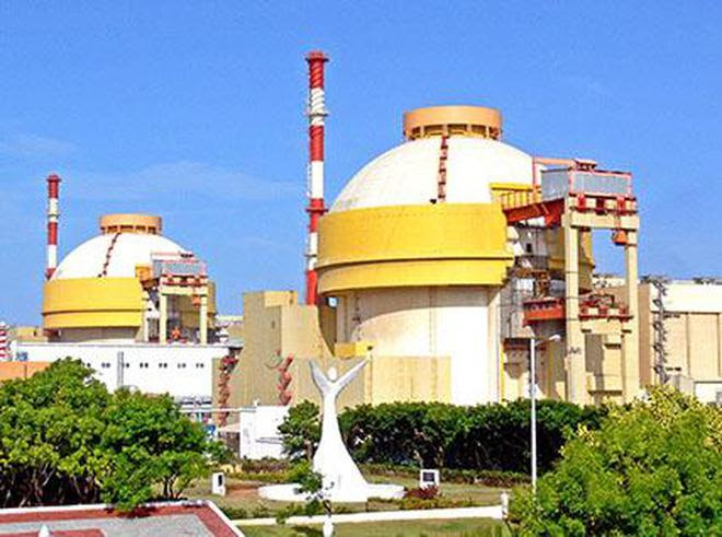 A view of Kudankulam Nuclear Power Project site.
