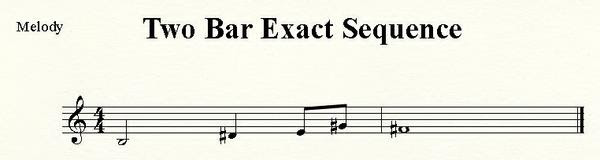 Two Bar Exact Sequence