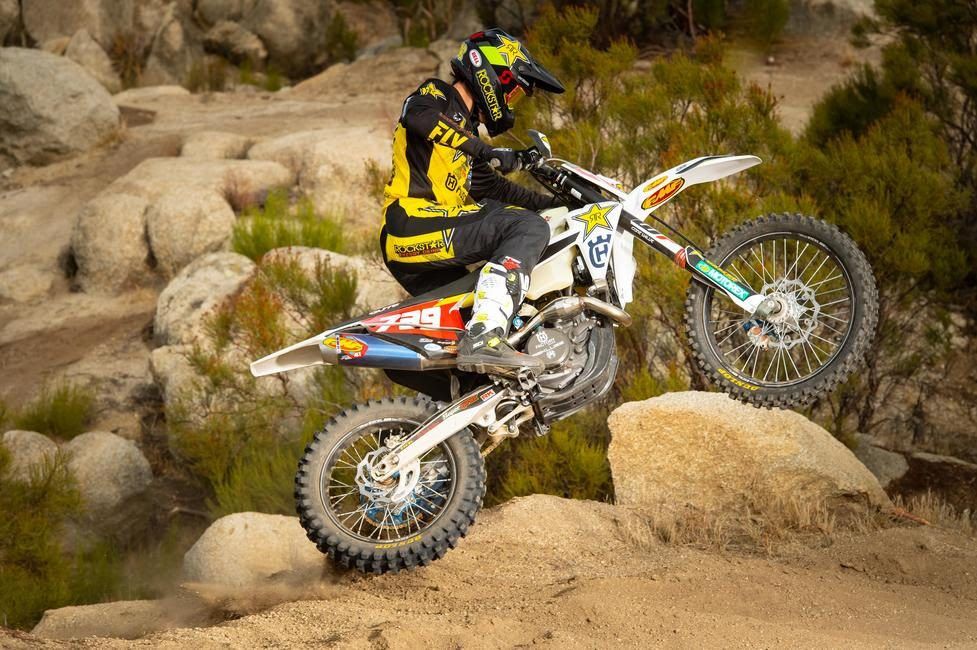 Trevor Bollinger will be sporting a new look this season aboard the Rockstar Energy/Factory Husqvarna Racing team.
