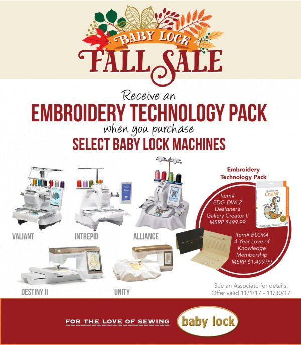Nov 2017 embroidery special