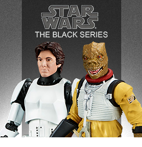 STAR WARS BLACK HAN SOLO AND BOSSK