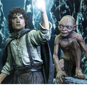 The Lord of the Rings Premium Masterline Frodo and Gollum (With Bonus)