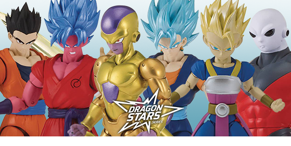 DRAGON BALL SUPER DRAGON STARS FIGURES WITH KALE COMPONENTS