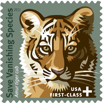Save Vanishing Species postage stamp.