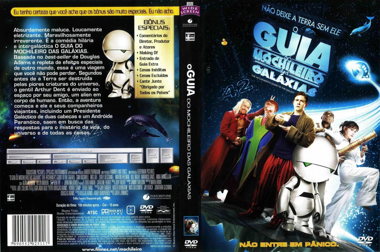 m0Iw6Xz O Guia do Mochileiro Das Galáxias Torrent   BluRay Rip 1080p Dublado (2005)