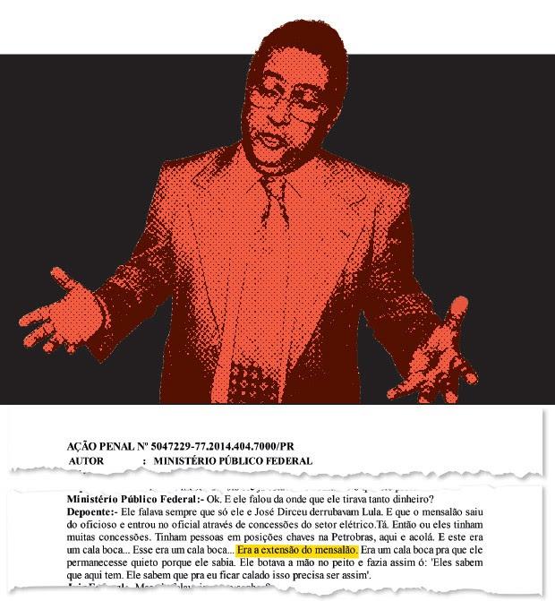 """ELO O ex-deputado José Janene, que morreu em 2010.  Em depoimento,  o empresário Hermes Magnus afirma que  o esquema de propina da Petrobras foi  uma """"extensão  do mensalão"""" (Foto: Montagem sobre foto de Lula Marques/Folhapress)"""