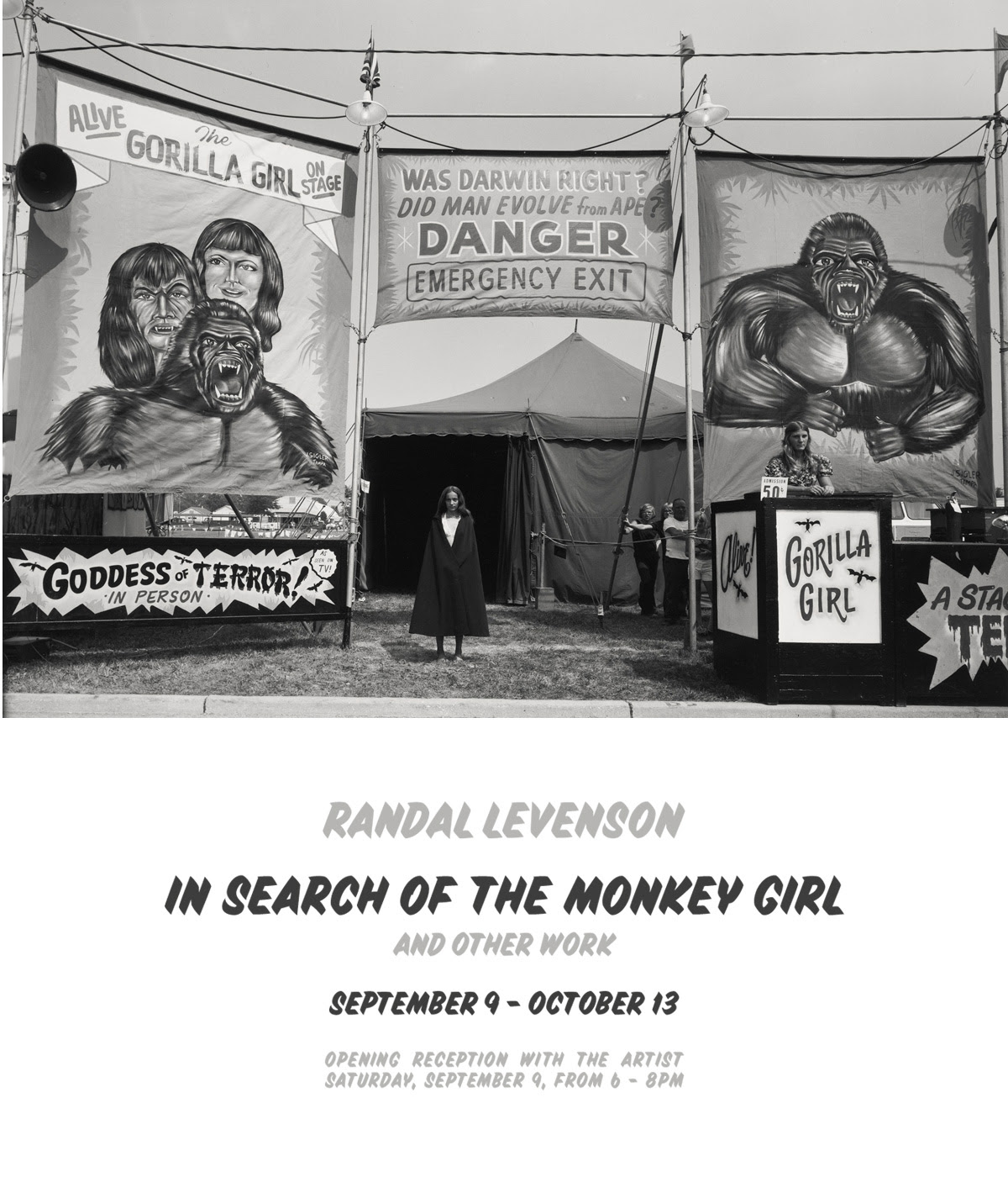 In Search of the Monkey Girl