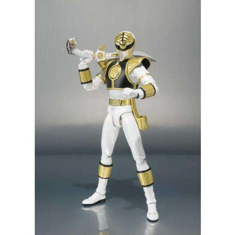 Image of Mighty Morphin Power Rangers S.H.Figuarts - White Ranger (Removable Helmet)