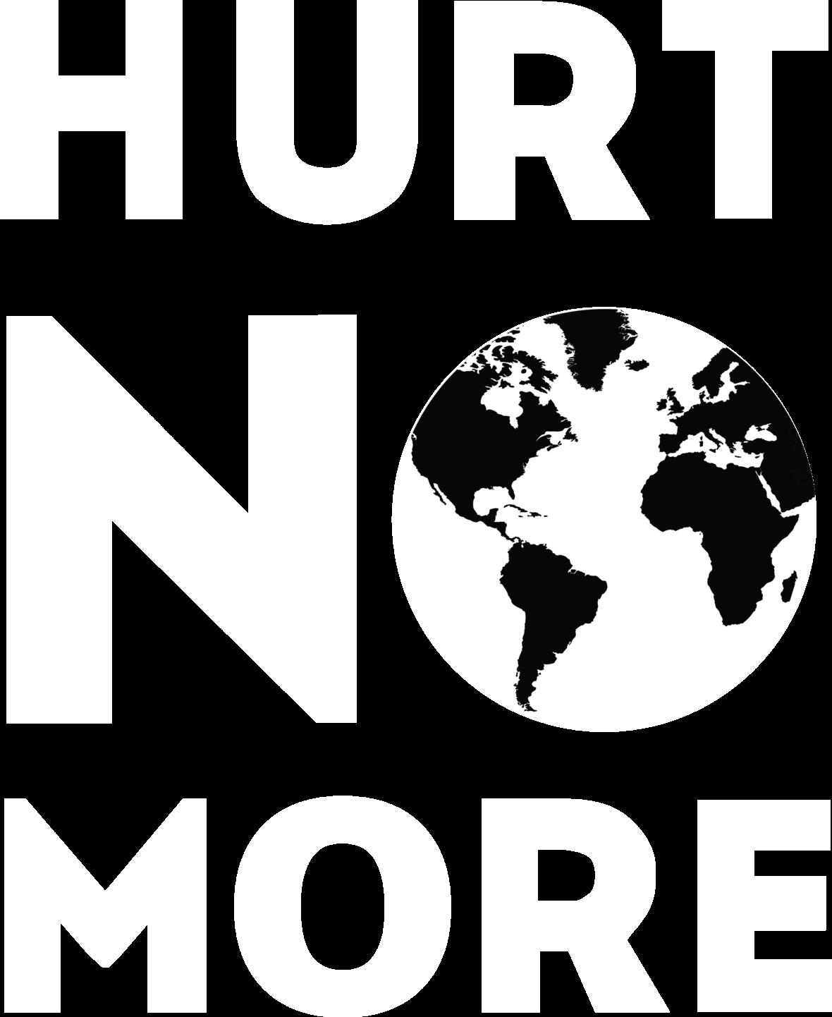 HURT NO MORE logoBW