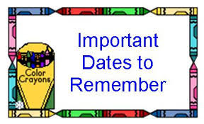 Image result for important dates pic