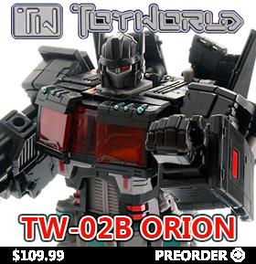TOYWORLD TW-02B ORION