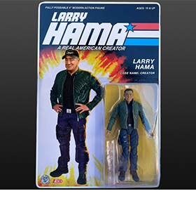 Larry Hama 1/18th Scale Figure