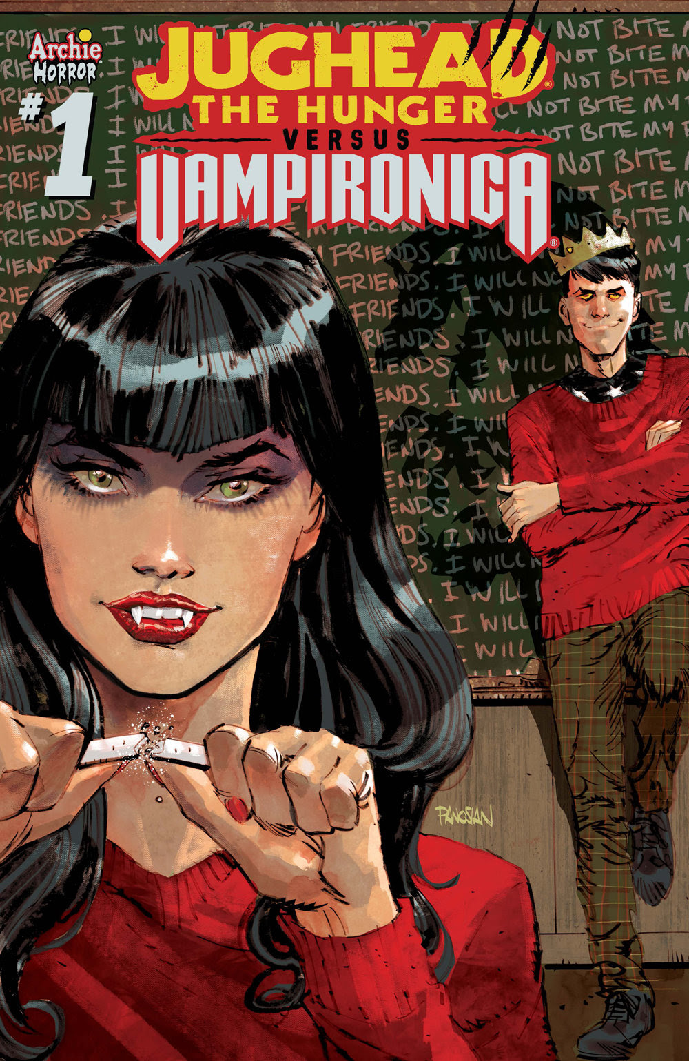 JUGHEAD: THE HUNGER VS. VAMPIRONICA #1: CVR C Panosian