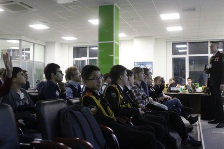 Московские школьники обсудили проблему спама в гостях у «Доктор Веб» #drweb