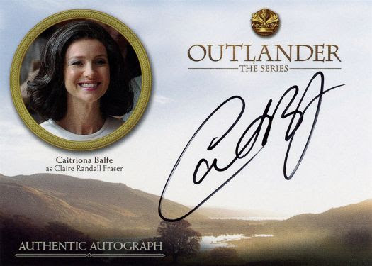 Outlander Trading Cards Season 3 - Caitriona Balfe Autograph Card