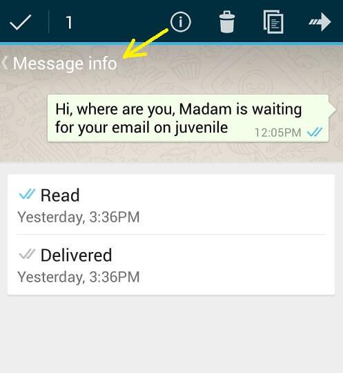 supprimer les tiques bleues dans whatsapp 2