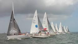 J/24s sailing Florida States