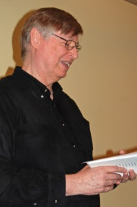 Allan Briesmaster reads from Against the Flight of Spring (Quattro Books)