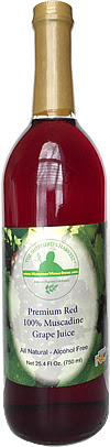 Shepherd's Harvest Premium Red Muscadine Grape Juice