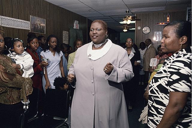 Gospel Concert, Supernatural Deliverance Revival Tabernacle, 70 First Street, Newark, 2003