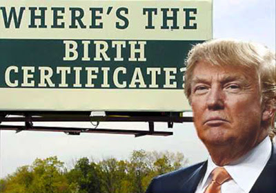 Bombshell Reversal! Why Did The Donald Just Cave on Obama's Birthplace?  Did He Also Cave on the Fake Birth Certificate?
