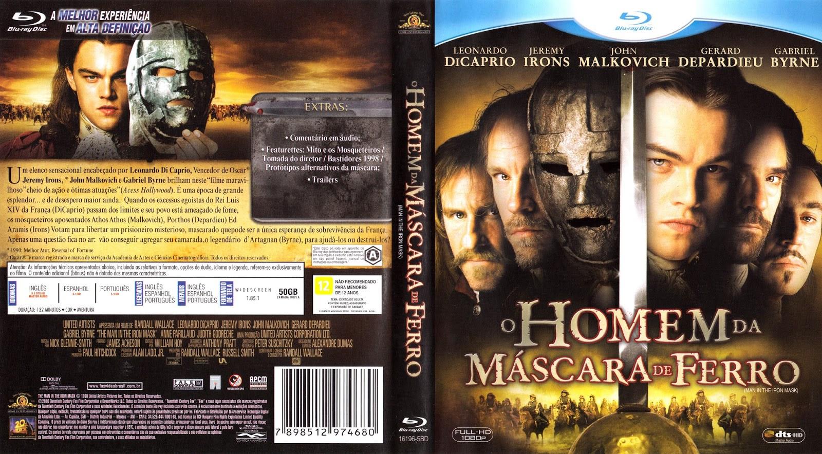 NlgAKH9 O Homem da Máscara de Ferro Torrent – BluRay Rip 720p Dublado (1998)