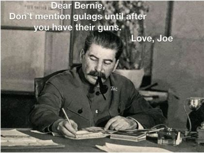 bernie sanders stalin gulag