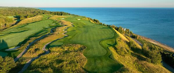 Bay Harbor Golf Club in Michigan