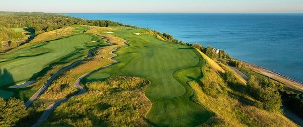 Bay Harbor Golf Club in Michigan