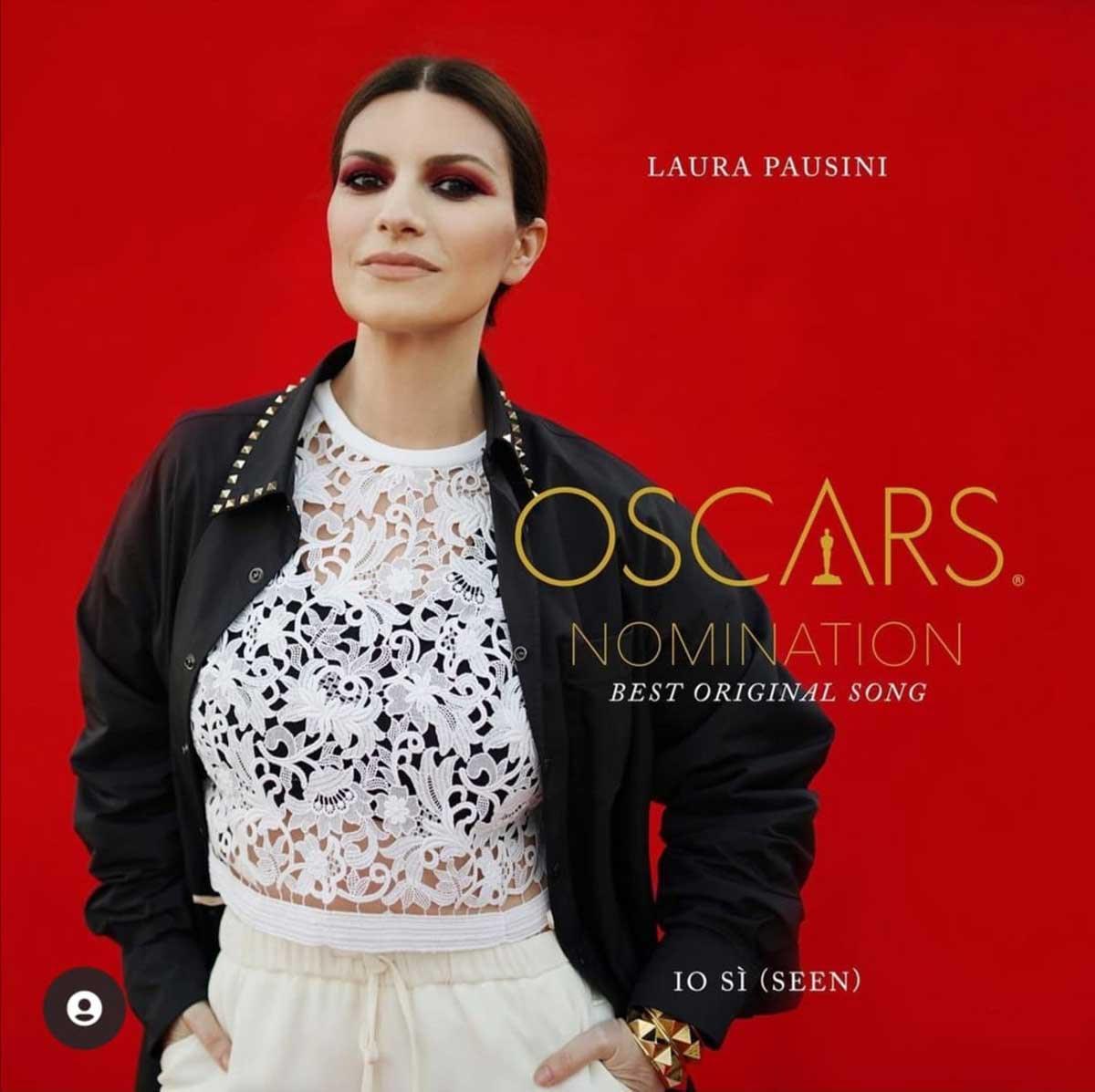 Laura Pausini ahora va por el Oscar