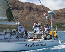 J/46 Andiamo sailing Transpac Race 2015