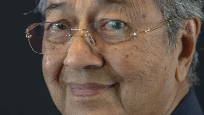 Tun Mahathir Mohamad, Malaysia's former prime minister. Picture: Sanjit Das.