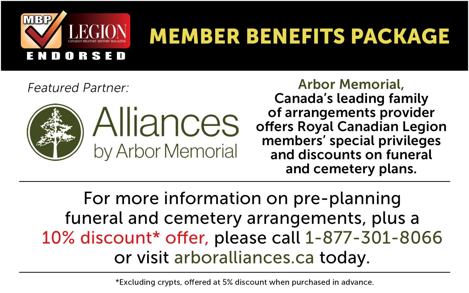Alliances by Arbor Memorial