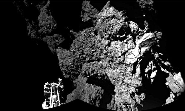 Philae lander touches down