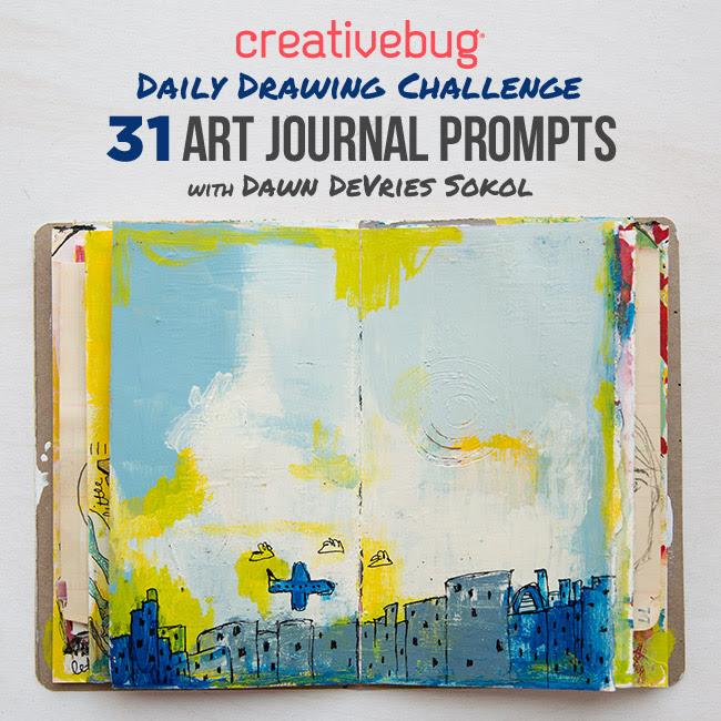 Creativebug`s August Daily Dra...