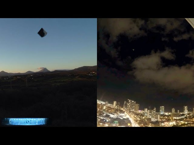 UFO News ~ UFO Disguised As Meteor Has Flying Saucer Come Out Of It and MORE Sddefault