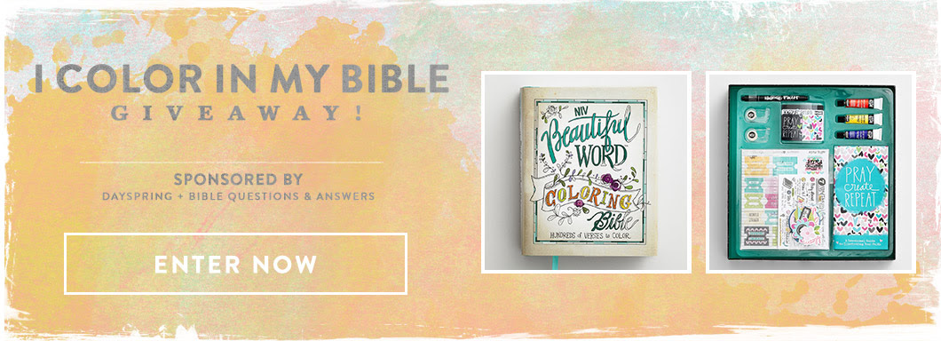 I Color In My Bible Giveaway Footer
