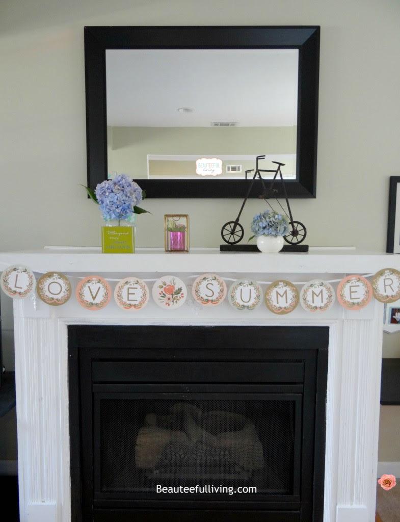 Summer Fireplace - Beauteeful Living