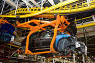 General Motors produces the Bolt EV at its existing production system at the Orion Assembly plant outside of Detroit.